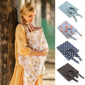 Image Is Loading Mum Breastfeeding Nursing Cover Up Baby Infant Poncho   Nursing Cover