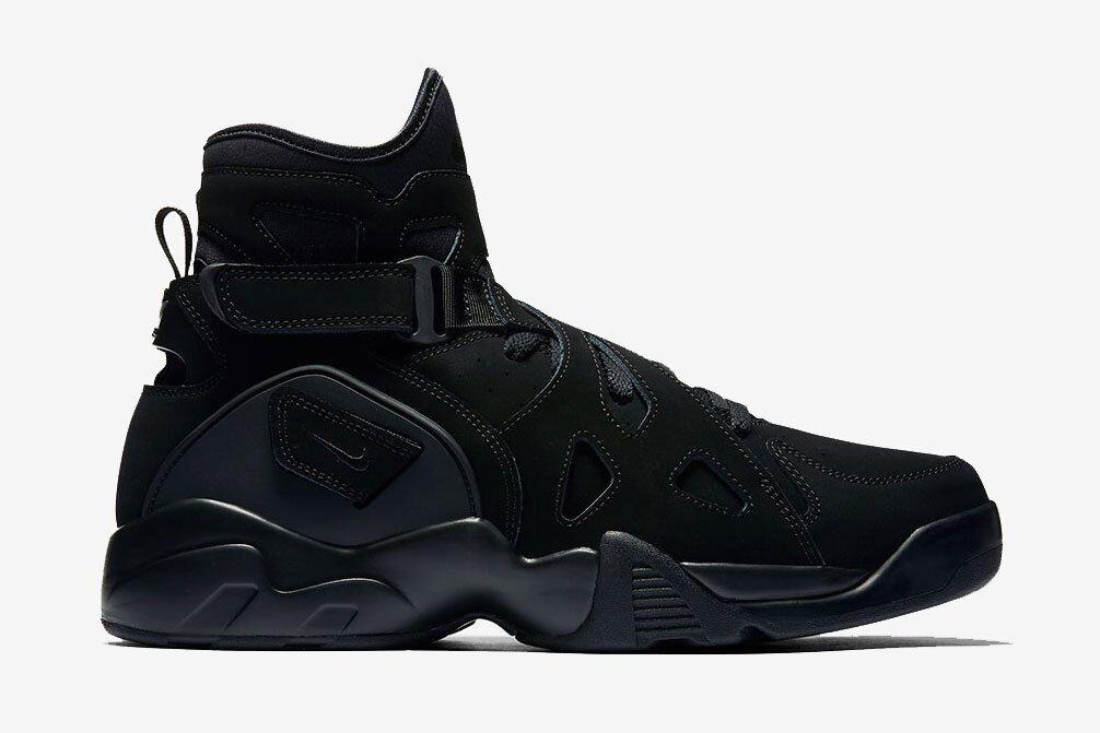 Nike Black MEN'S AIR UNLIMITED Triple Black Nike SIZE 9 SAMPLE SHOE BRAND NEW 9d133a