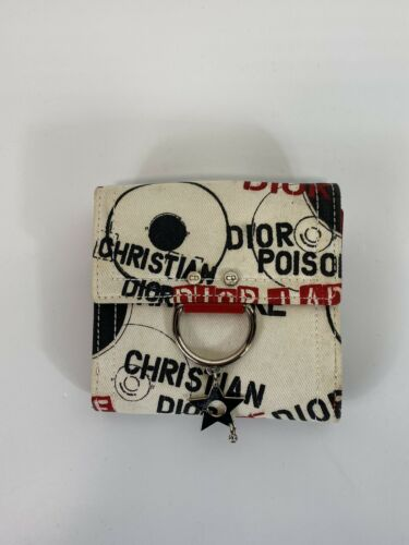 Rare Vtg Christian Dior by John Gallliano White 'H