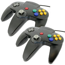 2 X Tekdeals Replacement Nintendo 64 Classic Controller Wired Long Handle W94