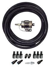 GM LS ENGINE FUEL LINE KIT (LSX SWAP) Push Lock Hose Filter Fittings Kit