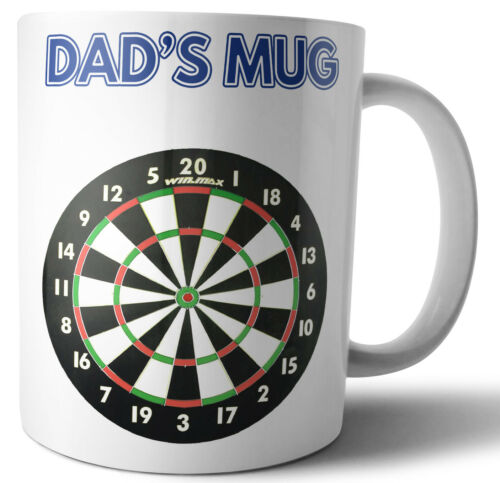 For Dad Father/'s Day or Birthday Card Gift Dartboard Darts Themed