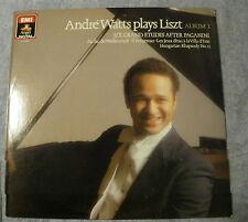 Andre Watts Plays Liszt Six Grand Etudes After Paganini LP Digital