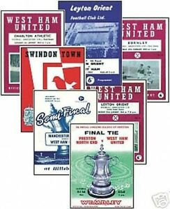 West-Ham-1964-FA-Cup-Programme-Trading-Card-Set