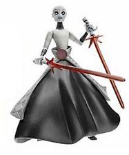 """STAR Wars Cartoon Network asajj ventress 3.75"""" Action Figure DANNEGGIATO CARD"""