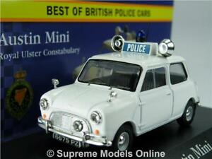 Austin Mini Car Model Police Royal Ulster 1 43 Size Corgi Vanguards
