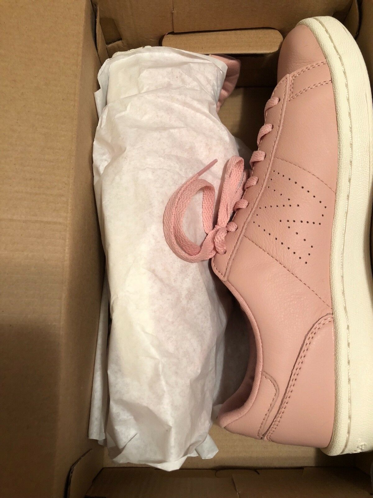 New J. Crew Woman's New Balance® for J.Crew 791 leather court chaussures In rose
