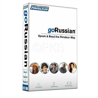 155 pages Book Pimsleur Russian Language 5 CD