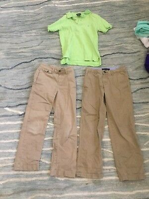 Boys Tommy Hilfiger and Polo size s(8 10) shirt and dress pants, EUC, Lot of 3 | eBay
