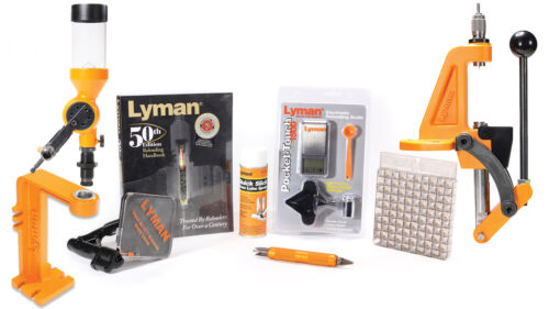 Lyman Brass Smith Reloading Kit With Ideal C-Frame Press  7810350