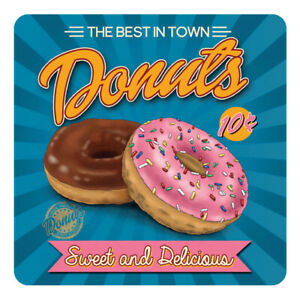 Donuts-Retro-American-Diner-Style-Ring-Donut-Met-Drinks-Table-Coaster
