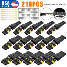 15sets Waterproof Car Truck Auto Electrical Wire Connector 234pin Way Plug Kit