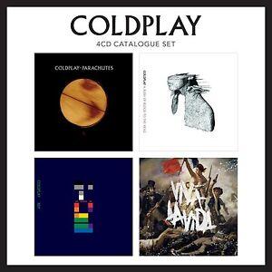 Coldplay-4-CD-Boxed-Catalogue-Set-CD-BRAND-NEW-amp-Sealed