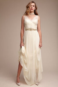 6a0601a6b0e Image is loading NEW-BHLDN-Anthropologie-Lace-hitherto-fleur-off-white-
