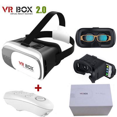 Universal realtà Bluetooth V2 CUFFIE 0 OCCHIALI SCATOLA 3D virtuale Remoto UK VR qTzqr7