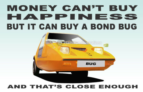 Bond Bug Novelty Fridge Magnet