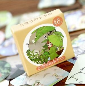 Studio-Ghibli-Totoro-Anime-Sticky-Envelope-Seals-Label-Planner-Stickers-46pcs