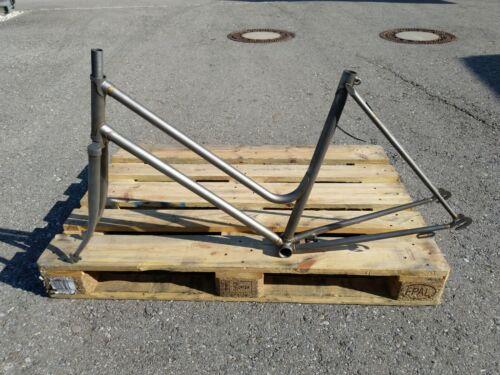 "Randonneuse cadre acier vélo 53 cm cm 28/"" Retro"