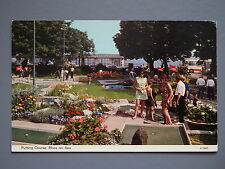 R&L Postcard: Putting Green/Miniature Golf, Rhos-n-Sea, ETW Dennis