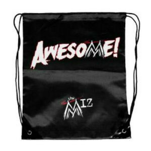 WWE-The-Miz-You-Are-Not-Awesome-Drawstring-Bag-Official-New