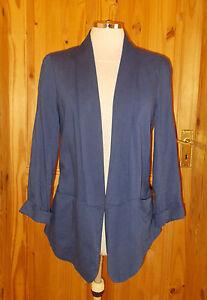 OASIS-medium-blue-open-fronted-3-4-sleeve-jacket-cardigan-top-10-36