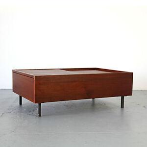 Mid Century Modern Teak Coffee Table 50s 60s Germany ...