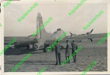 Altes orig. Foto Boeing B 17 Beute Flugzeug 298T