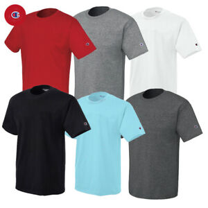 Champion Men's Short Sleeve Crew Neck Athletic T-Shirt