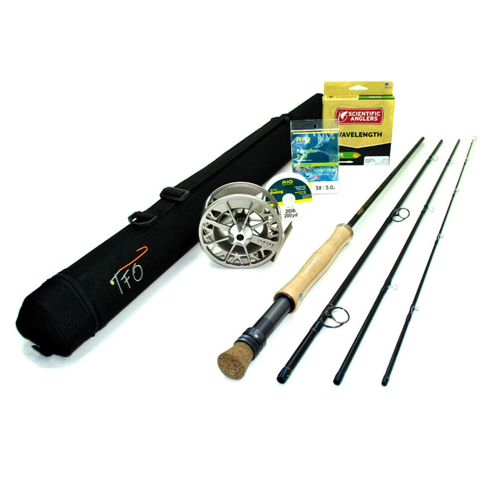 TFO Clouser 9wt 9'0  Fly Rod Outfit    TF 09 90 4 C  wholesale cheap