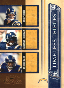 2007-Classics-Time-Triples-Antonio-Gates-Philip-Rivers-LaDainian-Tomlinson-1000