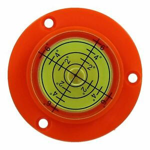 50 Mm Bull Eye Level Spirit Bubble Orbite Surface 0 - 6 Degré De Nivellement Zone-afficher Le Titre D'origine Haute Qualité Et Bas Frais GéNéRaux