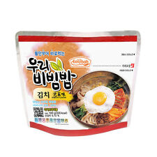 [3 PACK] MRE READY TO EAT KOREAN BIBIMBAP INSTANT RICE WITH VEGETABLE & KIMCHI