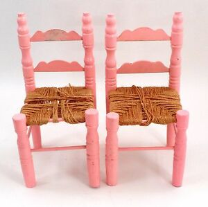MINIATURES 1:12 Dolls Houses  Furniture 2  Black Alfresco Cafe Outdoors Chairs