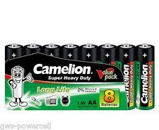 240 x Camelion AA R6 Mignon Batterie Super Heavy Duty Grün lose 1,5V 10108006