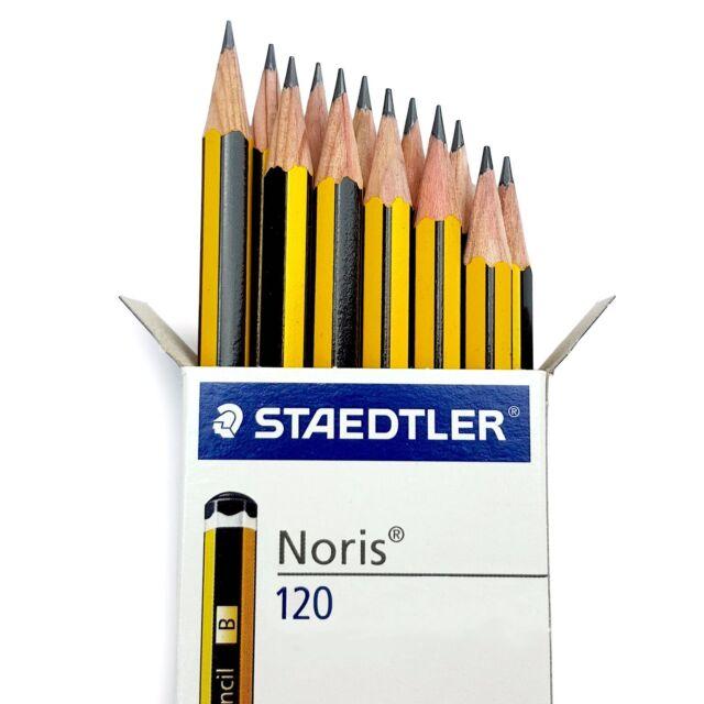 Staedtler Noris 120 Premium Office Pencils - In Grades HB/B/2B/H/2H - Box of 12