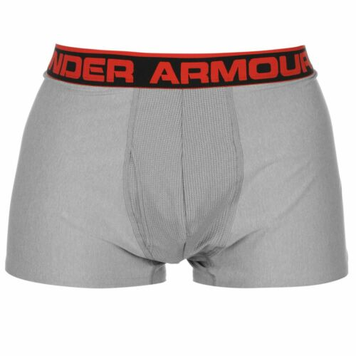 Under Armour Mens 3 Inch Boxer Jock Underwear Lightweight Stretch Moisture