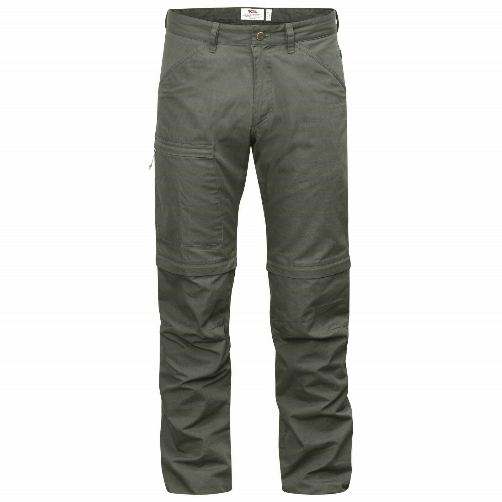 Fjäll Räven High Coast Zip off Trousers Men Zip-Off Mountain Grey Size 48