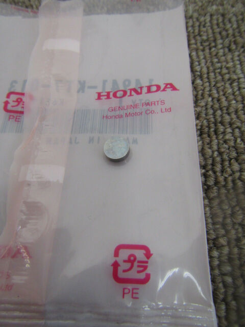 HONDA 2006 CRF250X A SHIM, VALVE TAPPET 14960-KT7-013 AUTENTICA CALIDAD JAPONES!