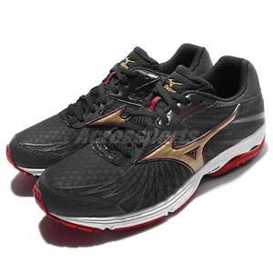 Mizuno Wave Sayonara 4 Black Red Men Running Shoes Sneakers Trainers ... 03ad2dc79dc