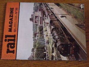 Revue-Rail-magazine-N-38-RATP-Artere-Nord-Est-Mikados-PLM-Type-16-SNCB