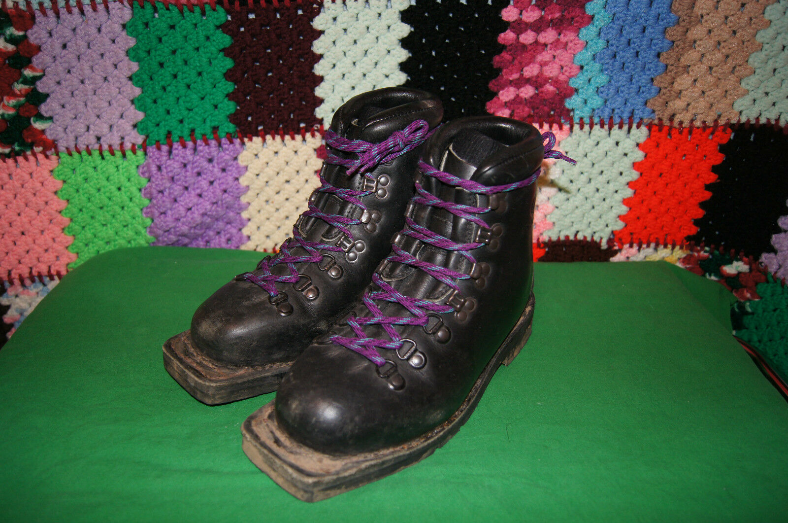 SCARPA BOOTS WOMENS 7 MENS 6 UK SIZE 5 MADE IN ITALY CROSS COUNTRY SKI BOOTS 7