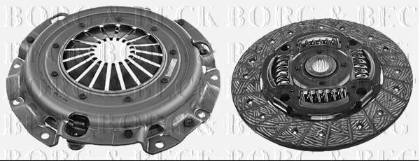 Borg & Beck Kit de Embrague 2 IN 1 para Mitsubishi Hatchback Lancer 1.8 105