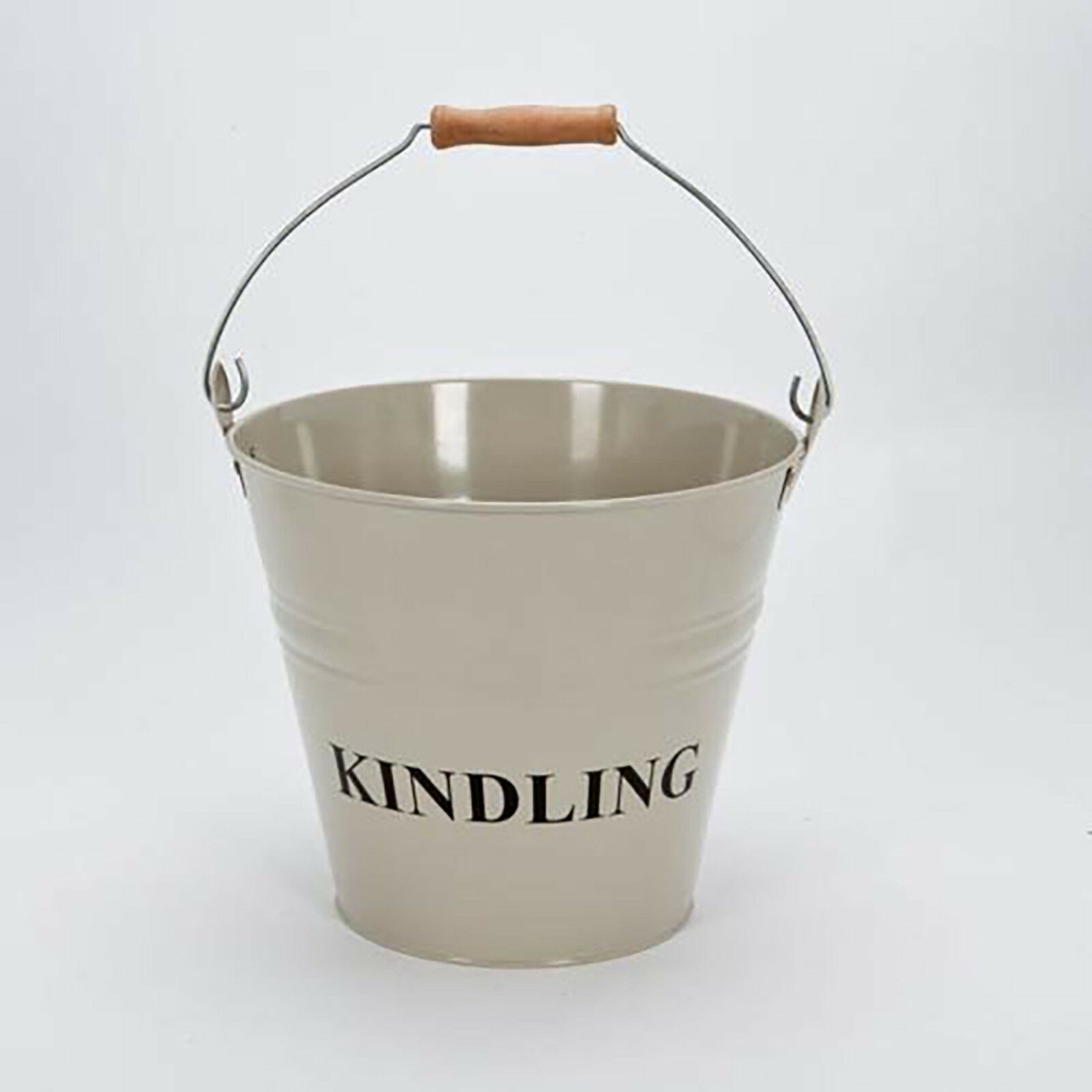 fireside fireplace coal bucket wood log holder scuttle kindling