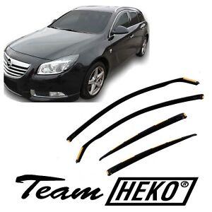 Generico Set DEFLETTORI Antivento Auto Compatibile con Opel Astra SW 5P 91-95 PARAVENTO Anti Vento Acqua Turbo Fume G3
