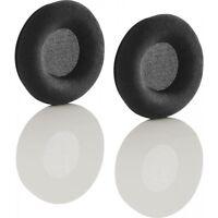 90mm VELOUR velvet Ear cushions Pads for Sennheiser HD205 HD215 Headphones UK