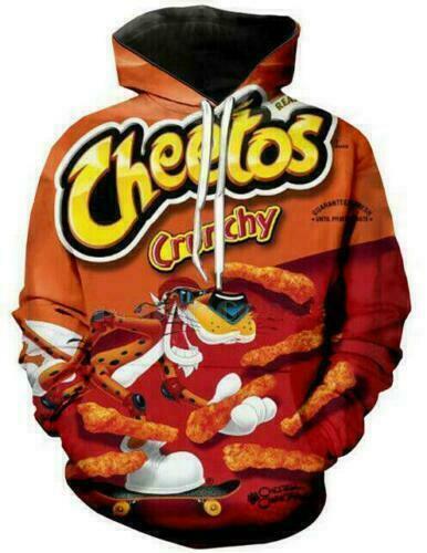 New Fashion Hot Cheetos 3D Print Men//Women/'s hoodies Sweatshirt Pullover Tops