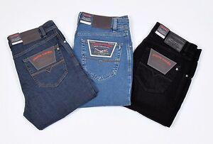 Herren stretch jeans mit hohem bund
