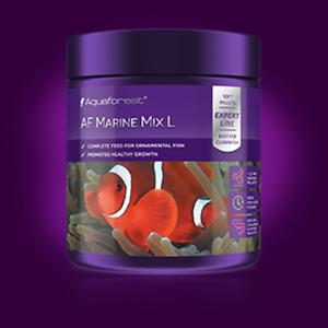 Comida Para Peces Marinos En Af Marine Mix S Aquaforestgranulo 1mm