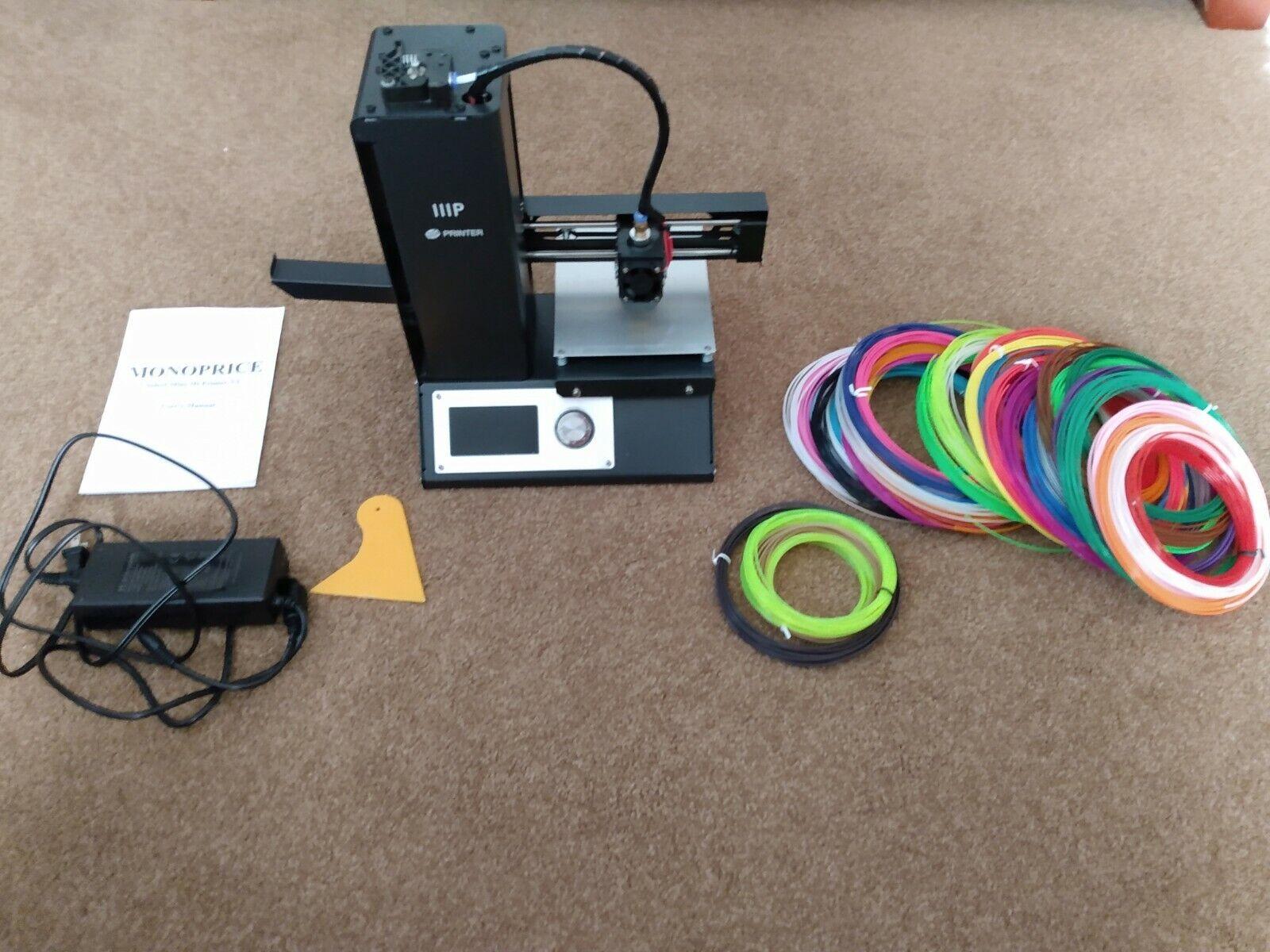 Monoprice Select Mini 3D Printer V2, SEE Description