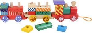 Trenino-da-traino-in-Legno-Gioco-Giocattolo-per-Bambini-Legler-32-cm
